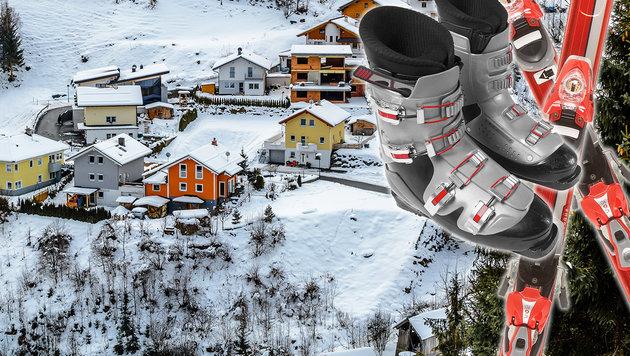 Mit Skischuhen am Hauptplatz: 2000 Euro Strafe! (Bild: thinkstockphotos.de)