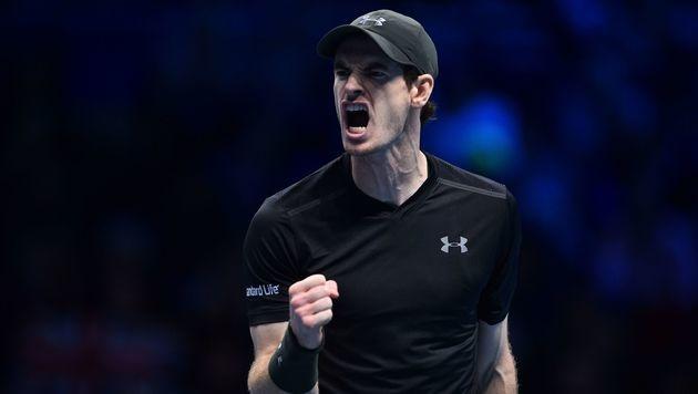"""Andy Murray: """"Es war ziemlich dramatisch!"""" (Bild: AFP)"""