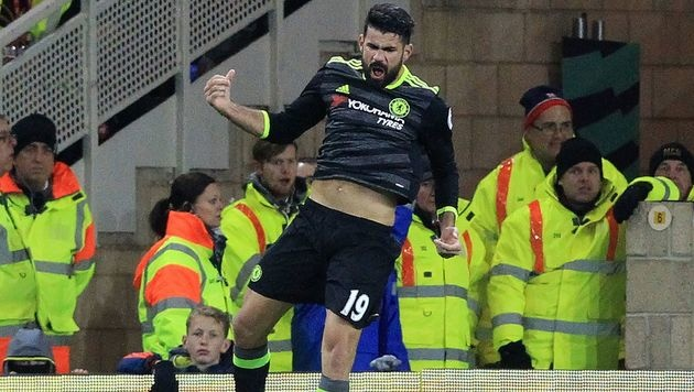 Chelsea nach 1:0-Sieg neuer Tabellenführer (Bild: APA/AFP/LINDSEY PARNABY)