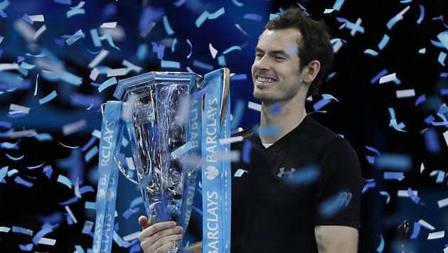 Djokovic abserviert! Murray König der Tennis-Welt (Bild: AP)