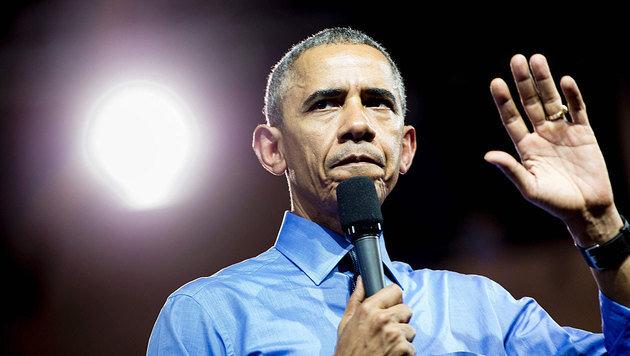"""Obama versucht die internationale Gemeinschaft zu beruhigen: """"Erwartet nicht das Schlechteste."""" (Bild: APA/AFP/BRENDAN SMIALOWSKI)"""