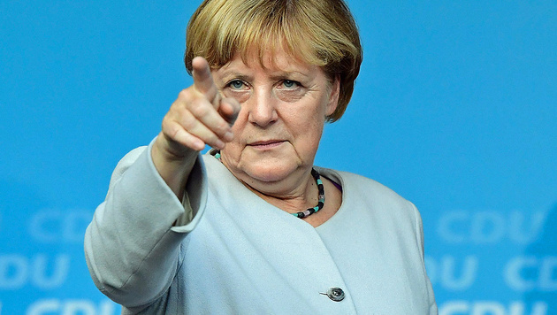 Angela Merkel (Bild: APA/AFP/TOBIAS SCHWARZ)