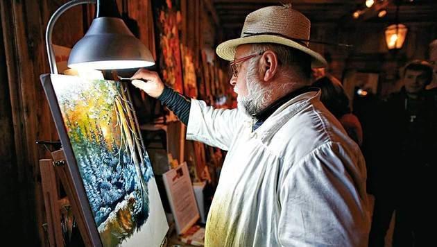 Kunst - nicht Kitsch lautet das Credo auf der Rosenburg. (Bild: Reinhard Holl)