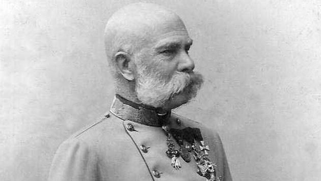Kaiser Franz Joseph, fotografiert um 1885 von Carl Pietzner (Bild: Carl Pietzner)
