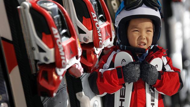 """Chinesen wollen unsere Ski-Industrie kaufen (Bild: APA/Barbara Gindl, """"Krone"""")"""