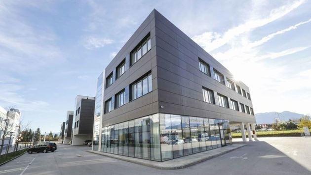 Der geräumte Firmensitz in Wals (Bild: Markus Tschepp)
