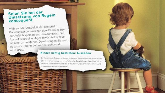 "Pampers verrät, ""wie man Kinder richtig bestraft"" (Bild: thinkstockphotos.de)"