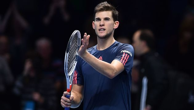 Thiem überwintert als Achter, Murray bleibt Nr. 1 (Bild: AFP)
