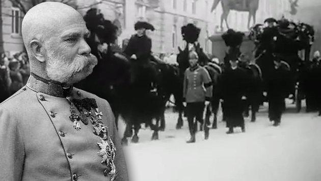 """Vor 100 Jahren starb Österreichs """"ewiger Kaiser"""" (Bild: Wikipedia, YouTube.com)"""