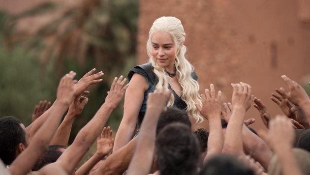 """Emilie Clarke in """"Game of Thrones"""" (Bild: HBO)"""