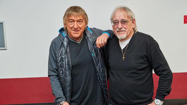 Show-Profis: die Amigos (Bernd Ulrich und Karl-Heinz Ulrich) in Wien (Bild: Starpix/ Alexander TUMA)