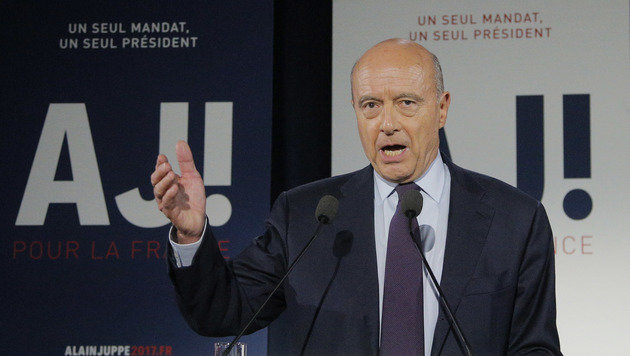 Alain Juppe (Bild: ASSOCIATED PRESS)