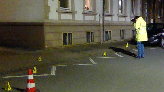 Der Tatort in Hameln (Bild: EPA)