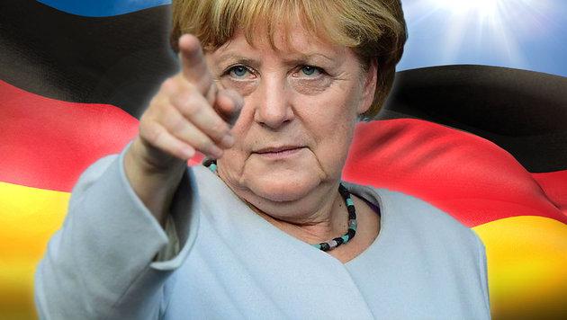 Angela Merkel kandidiert zum 4. Mal als Kanzlerin (Bild: APA/AFP/TOBIAS SCHWARZ, thinkstockphotos.de)