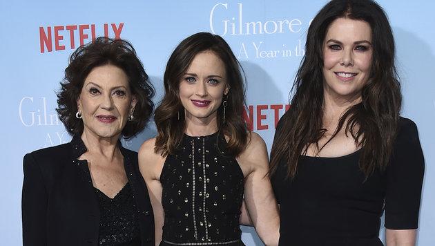Kelly Bishop, Alexis Bledel, Lauren Graham (Bild: AP)