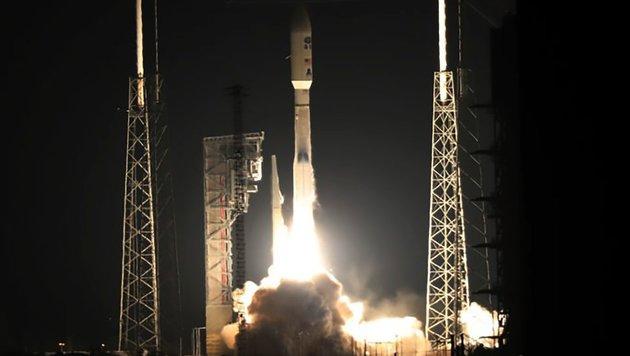 """Der Start von """"GEOS-R"""" an Bord einer """"Atlas 5""""-Rakete (Bild: NASA/Kim Shiflett)"""