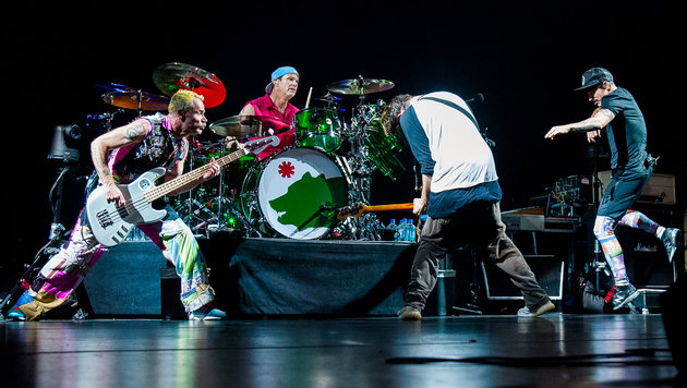 Würzig und agil: Red Hot Chili Peppers in Wien (Bild: Andreas Graf)