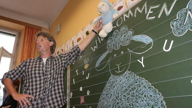 Druck ist zu groß: Lehrer an den Grenzen (Bild: Andreas Tröster (Symbolbild))