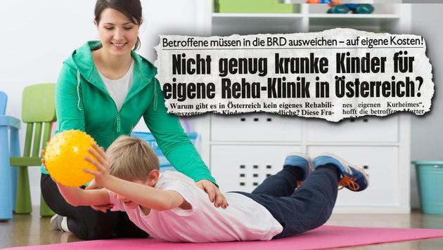 Bereits 2007 haben wir eigene Reha-Plätze für Kinder gefordert - das wir nun endlich Realität. (Bild: thinkstockphotos.de)
