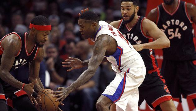 NBA: Toronto verliert ohne Pöltl in Los Angeles (Bild: AP)