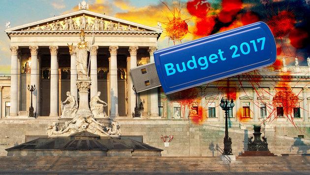 Parlament warnt vor Virus aus Finanzministerium (Bild: thinkstockphotos.de (Symbolbild))