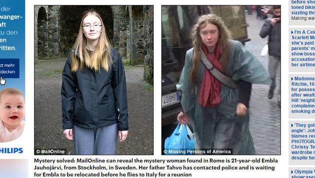 """Die """"Daily Mail"""" hat ein Foto bekommen, auf dem zu sehen ist, wie Embla vor ihrer Abreise aussah. (Bild: dailymail.co.uk)"""