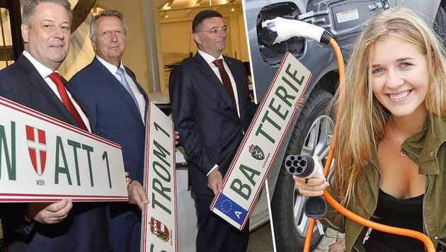 Ab 2017 4000 Euro für neue Elektro-Autos (Bild: APA/HERBERT PFARRHOFER, Martin A. Jöchl)