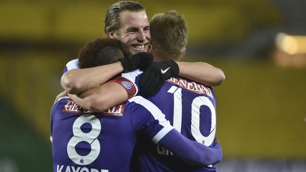 Austria Wien: Tanzt wieder den Aufstiegs-Walzer! (Bild: GEPA)