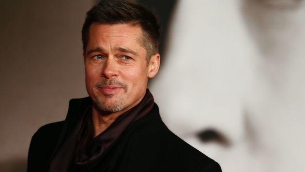 Brad Pitt (Bild: APA/AFP/ADRIAN DENNIS)