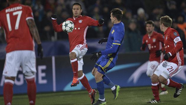 "FC Bayern kassiert in Rostow blamable 2:3-Watsch""n (Bild: Associated Press)"