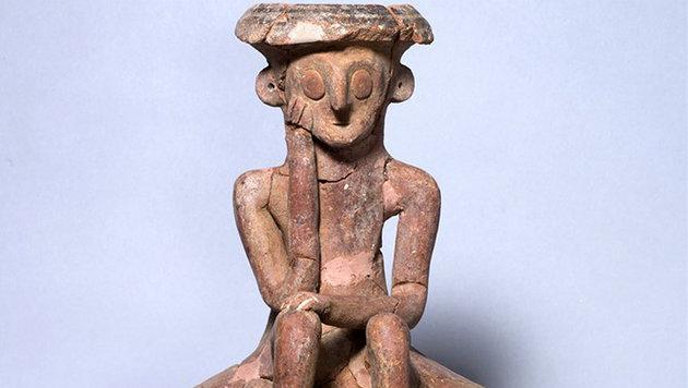 Israel: Forscher finden 3800 Jahre alte Tonkunst (Bild: IAA/Klara Umit)