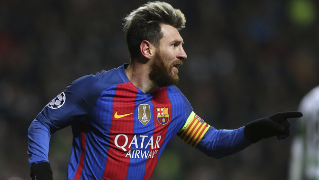 Messi-Doppelpack! Barcelona gewinnt bei Celtic 2:0 (Bild: Associated Press)