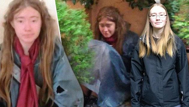 """""""Obdachloses Mädchen von Rom ist meine Tochter!"""" (Bild: Missing Persons of America, dailymail.co.uk)"""