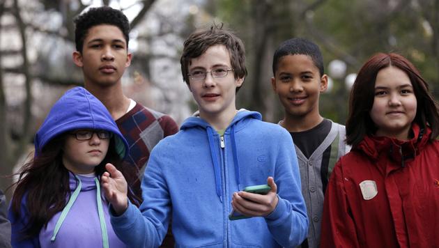 Diese Schüler legen sich mit dem US-Bundesstaat Washington an. (Bild: AP)