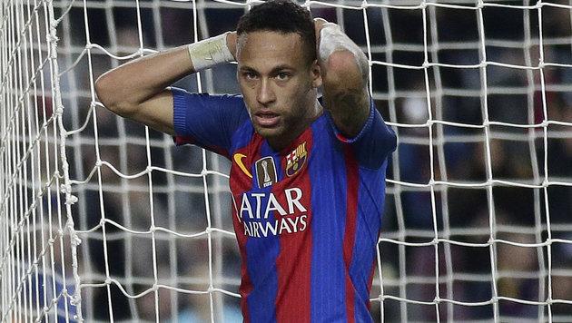 Superstar Neymar soll für zwei Jahre ins Gefängnis (Bild: Associated Press)