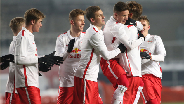 Youth League: Jung-Bullen ziehen ins Play-off ein (Bild: GEPA)