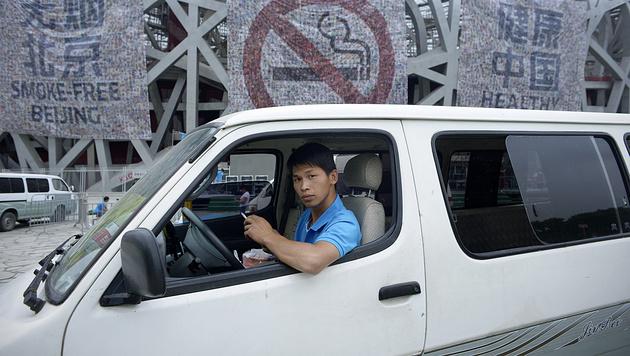 China: Rauchverbot an allen öffentlichen Orten (Bild: APA/AFP/WANG ZHAO)