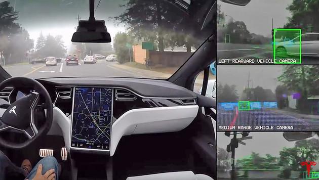 Robo-Autos: Wenn der Computer am Steuer sitzt (Bild: YouTube)
