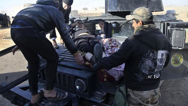 Anschlag im Irak: Über 70 iranische Pilger getötet (Bild: AP)