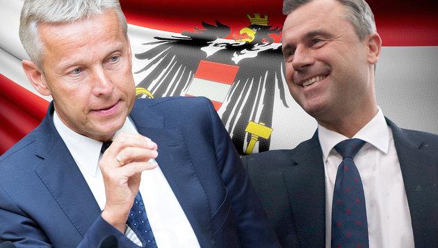 Hofburg-Wahl: Promis ließen ihre Deckung fallen (Bild: APA/GEORG HOCHMUTH, thinkstockphotos.de)
