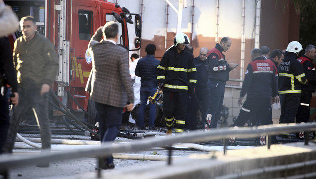 Türkei: Tote und Verletzte nach Explosion in Adana (Bild: The Associated Press)