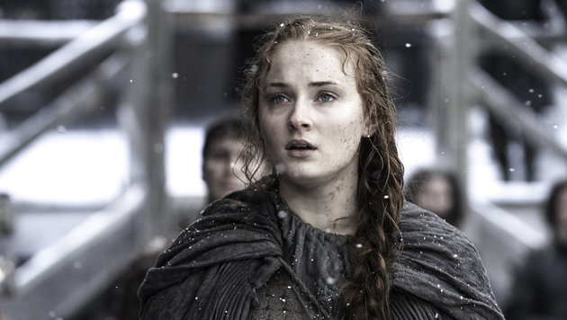 "Sophie Turner in ihrer Rolle als Sansa Stark in ""Game of Thrones"" (Bild: Viennareport)"