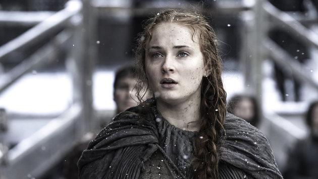 """Sophie Turner in ihrer Rolle als Sansa Stark in """"Game of Thrones"""" (Bild: Viennareport)"""