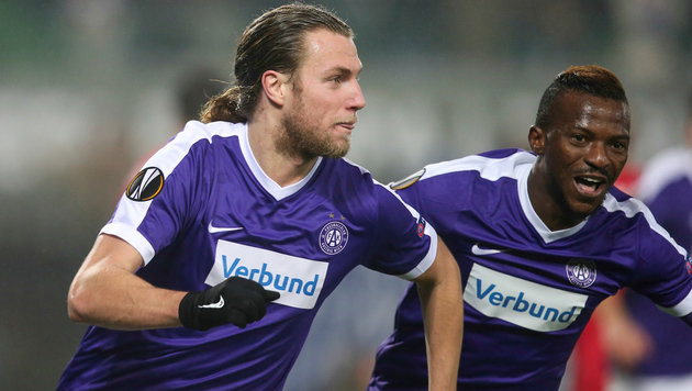 1:2! Austria verspielt Führung gegen Astra Giurgiu (Bild: GEPA)
