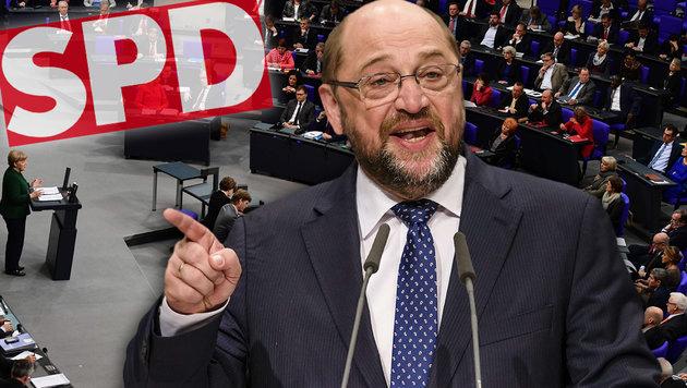 Martin Schulz (Bild: APA/AFP/Tobias Schwarz, APA/AFP/Clemens Bilan)