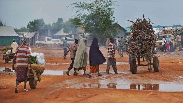 Kenia: Weltgrößtes Flüchtlingslager vor Schließung (Bild: AFP or licensors)