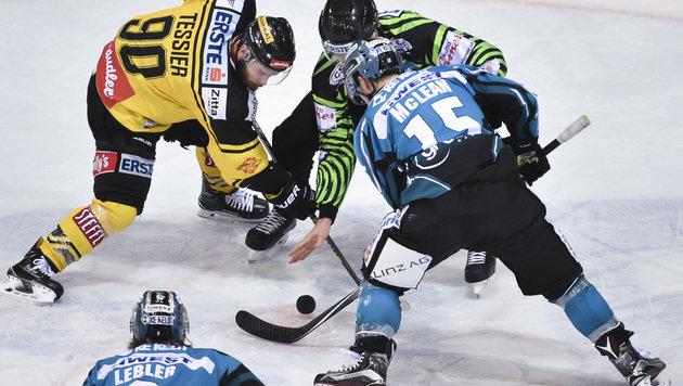 Black Wings gewinnen Schlager bei Capitals mit 3:2 (Bild: GEPA)