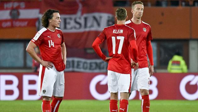 FIFA-Ranking: ÖFB-Team fällt auf Platz 31 zurück (Bild: APA/HERBERT NEUBAUER)
