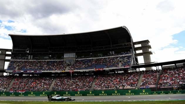 Formel 1: 2017 offenbar kein Deutschland-Rennen (Bild: APA/AFP/PATRIK STOLLARZ)