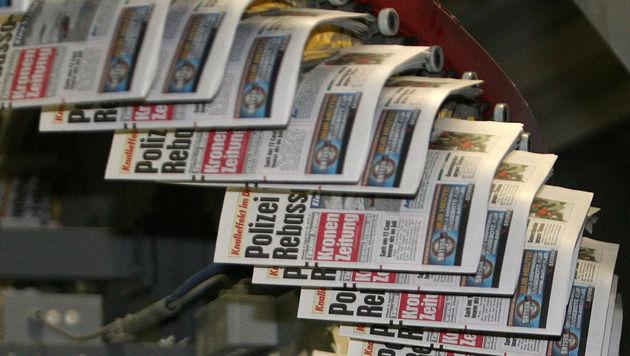 """Mehrheit der Österreicher vertraut """"ihren"""" Medien (Bild: Andreas Tröster, Kronen Zeitung)"""